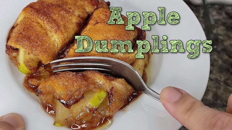 APPLE DUMPLINGS Easy Apple Dumplings Recipe Crescent Rolls Dessert Recipe