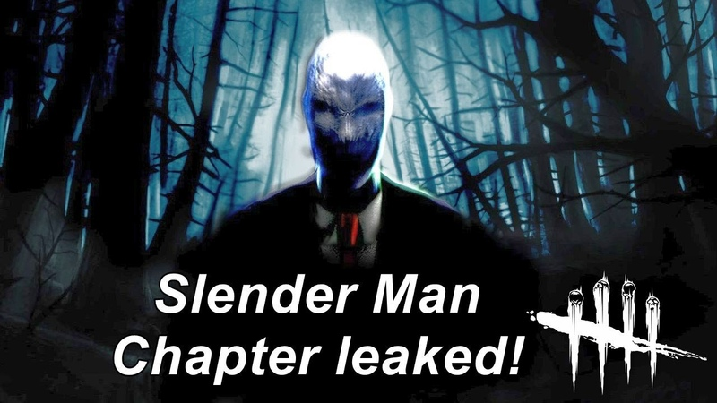Dead By Daylight Slender Man chapter leaked DLC power perks revealed NEWS