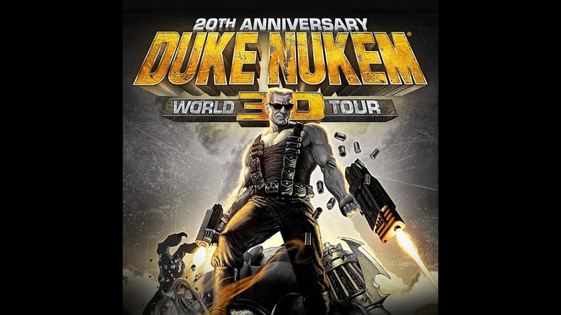 Duke Nukem 3D 20th Anniversary World Tour E4M4 Прохождение на Выкуси