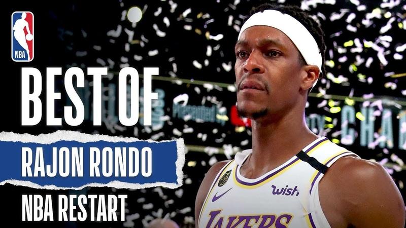 Rajon Rondo's Best Plays From NBA Restart