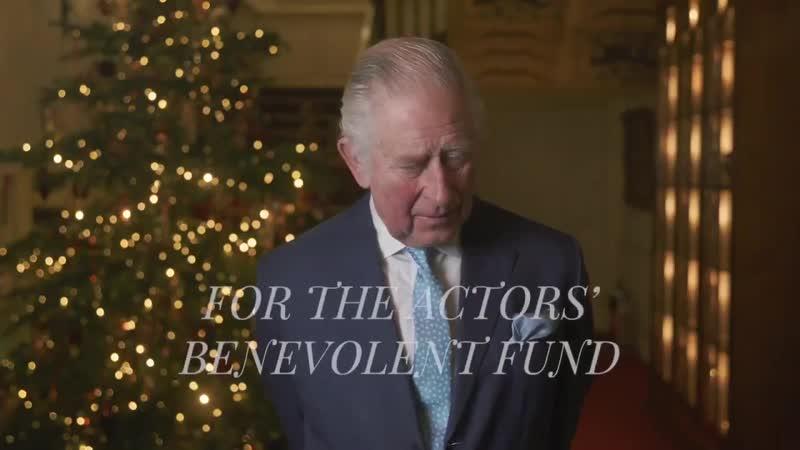 24 12 2020 промо ролика для Actors' Benevolent Fund от Кларенс хауса
