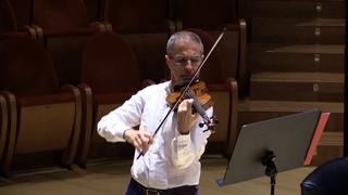 "Marco Bronzi suona il violino Nicolò Amati 1658c ""Hammerle"" - Edward Elgar - Salut d'Amour"