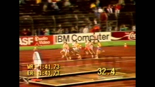 104 European Track and Field 1986 800m Men