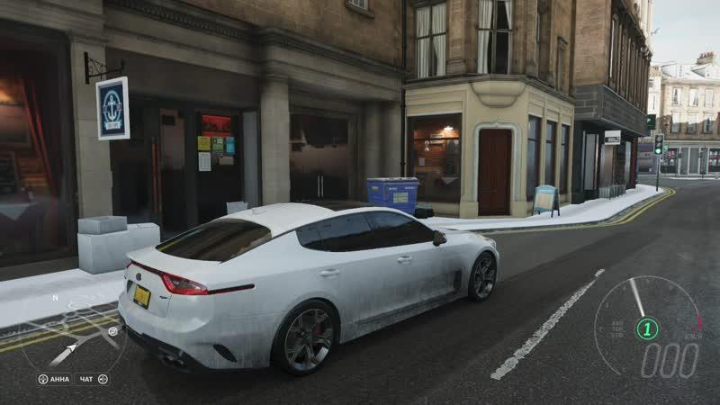 Forza Horizon 4: Kia Stinger 2018 3,3 370HP: Ultra Settings Open World 1080p60.