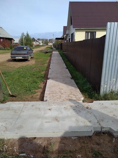 На улице Литейщиков посёлка Балезино были проведены работы п