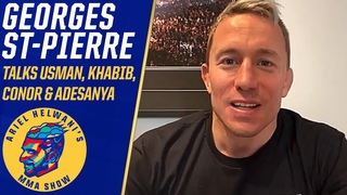 Georges St-Pierre talks Adesanya and McGregor's losses, Usman's dominance | Ariel Helwani's MMA Show