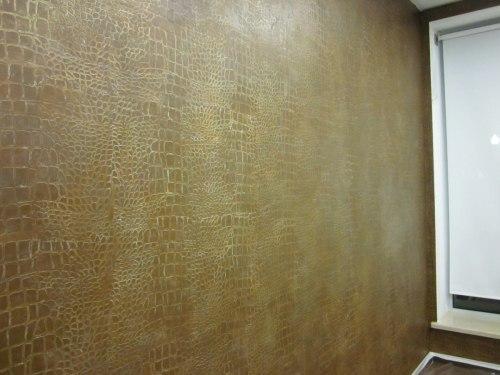 Отделка внутренних стен и фасадов декоративной штукатуркой, изображение №10