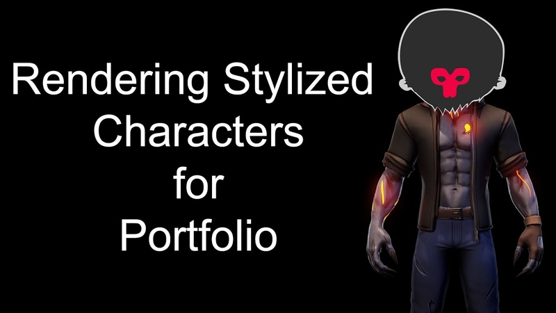 Rendering a Stylized Character in Marmoset Toolbag