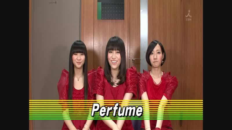 Perfume - Fushizen na girl Talk (CDTV 2010.04.18)
