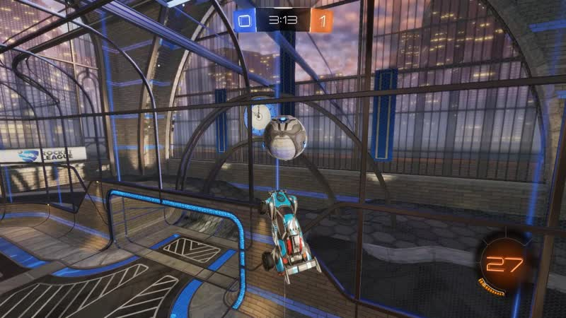 Double touch from wall