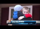 Father's Return is Early Christmas Gift For Bourbon County Boy