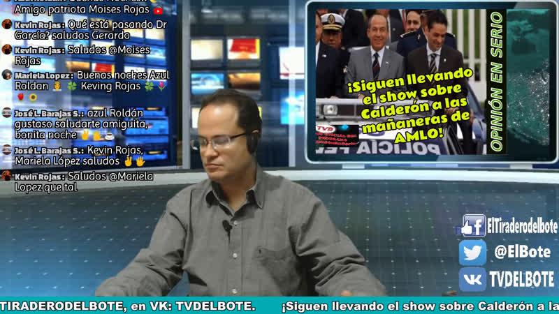 OpiniónEnSerio con Gerardo De La Huerta ¡Sigue show sobre Calderón en Mañaneras!. ¡Impugnan decisión de INE sobre nombre de AM