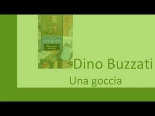 Изучаем итальянский язык посредством чтения. Dino Buzzati  Una goccia (1)