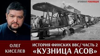 Олег Киселев об истории военно-воздушных сил Финляндии 1918 -1939. Кузница асов. Часть 2.