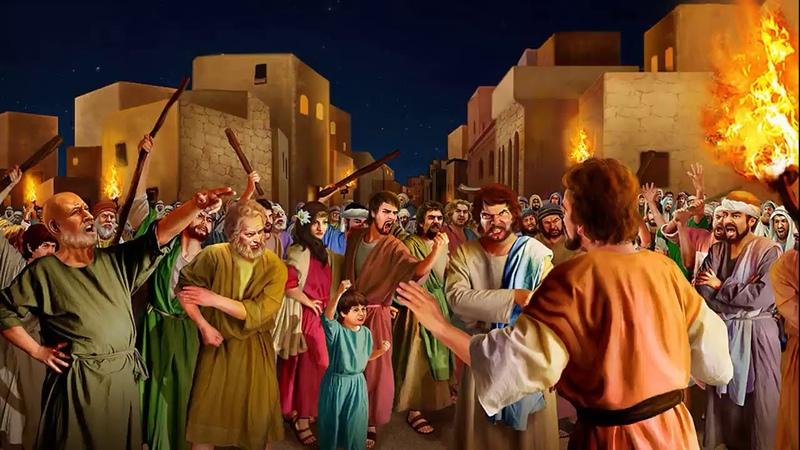Уничтожение Содома и Гоморры Божии ответы на многие вопросы ч 2