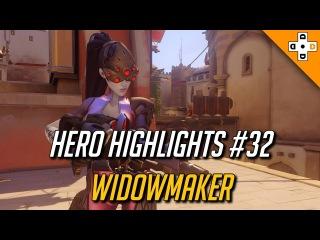 Overwatch Hero Highlights #32 - Widowmaker
