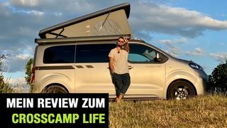2020 Crosscamp Life - Camping-Van auf Opel Zafira Life Basis ⛺️🚐 - Fahrbericht | Review | Test 🌳🌲