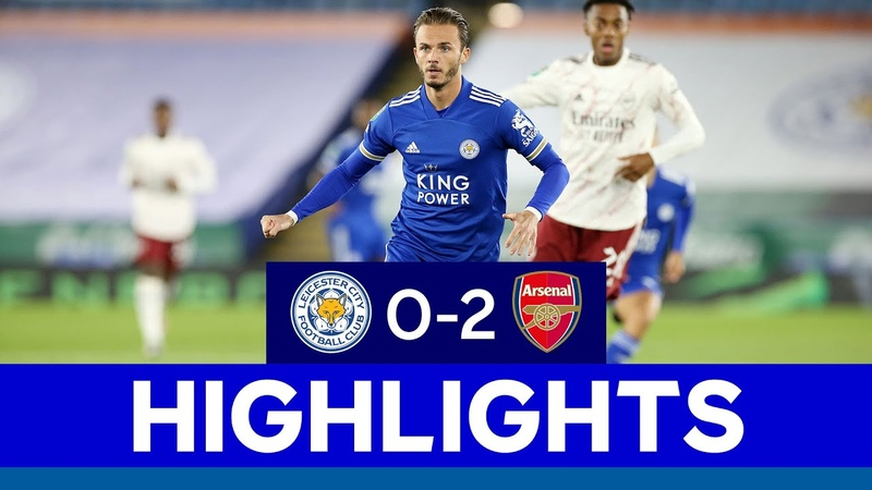 Foxes Exit Carabao Cup in Third Round Leicester City 0 Arsenal 2 2020 21