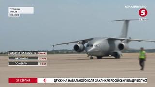 """Не має гвинтів і піднімається до 12 тис. м.: """"Антонов"""" показав будівництво літака Ан-178 для Перу"""