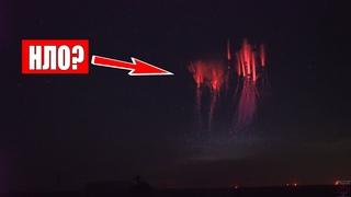 НЕОПОЗНАННЫЙ ОБЪЕКТ! НЛО? Замечены множественные огни в небе над США, корабль нло?   боль земли