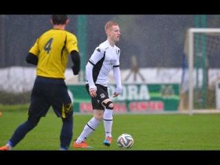 Гол защитника молодежки Краснодара Антона Мальцева в ворота венгерского FC REAC
