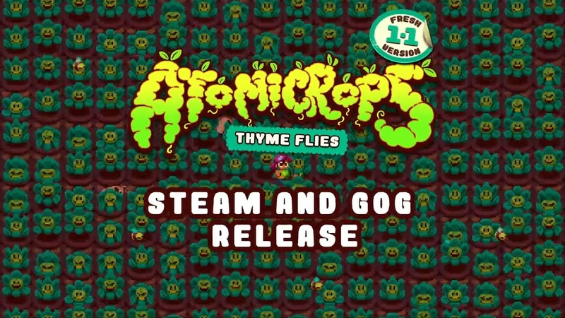 Atomicrops Steam GoG Launch Trailer - Farm. Marry. Kill.