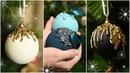 Новая жизнь дешевых елочных шаров / Переделка