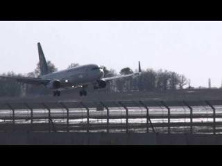 [FULL HD] UIA Boeing 737-800 UR-PSC landing in Boryspil, Посадка в Борисполе