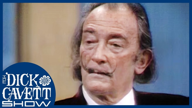 Salvador Dali On The Meaning Behind His Art The Dick Cavett Show