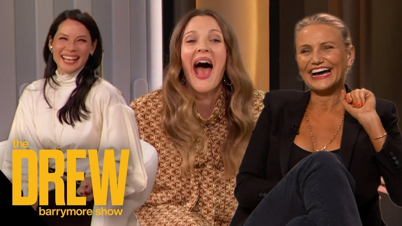 Drew Kicks Off Her First Show with Her Charlie's Angels Sisters Cameron Diaz and Lucy Liu