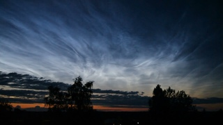 Noctilucent cloud / Серебристые облака. 21 июля 2021