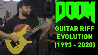 DOOM Guitar Riff Evolution (1993-2020)