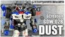 GCreation GDW-02B DUST Transformers IDW Smokescreen review
